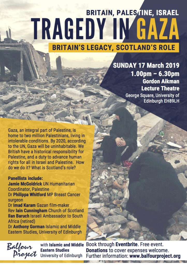 Balfour Project Edinburgh 17 March 2019