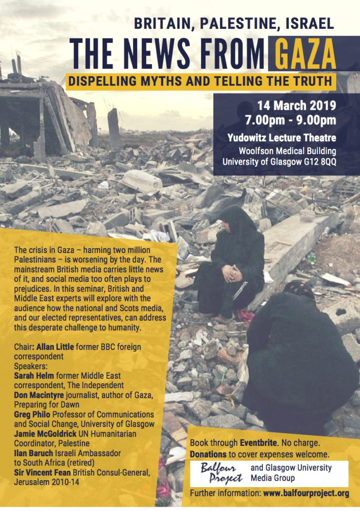 Balfour Project Glasgow 14 March 2019